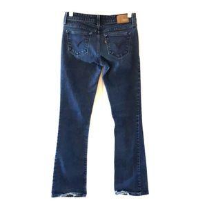Levi's Demi Curve Low Rise Boot Cut Skinny Jeans